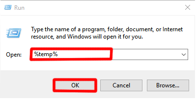 Speed Up Your PC[Windows 10] -Delete temporary files