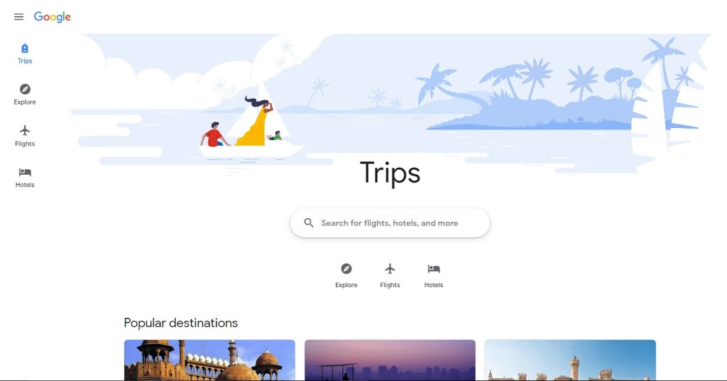 Google search tips & tricks - use google travel