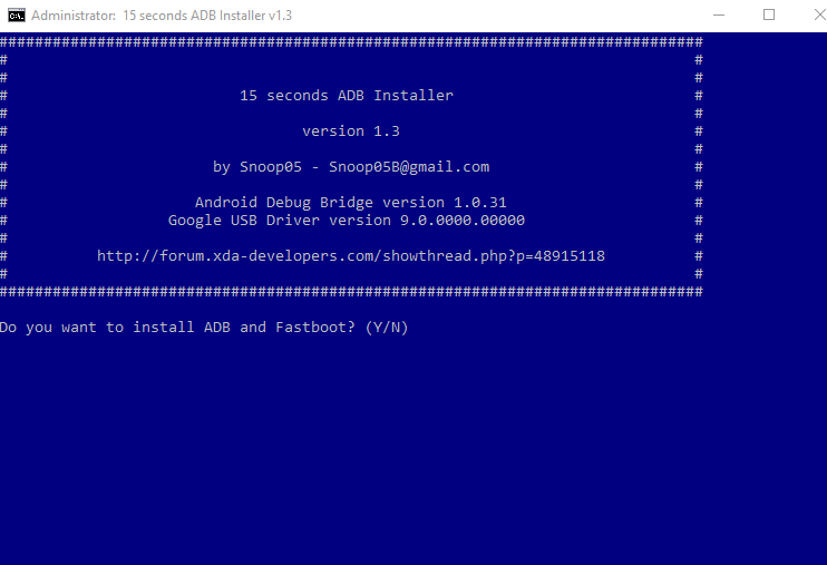 How To Check Whether The Bootloader Is Locked Or Unlocked Using ADB Commands-Installing ADB setup