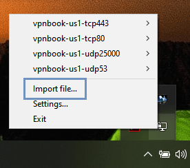 Setting Up VPN Connection On Windows 10 Using PPTP And OpenVPN Protocol- Importing OpenVPN  client file