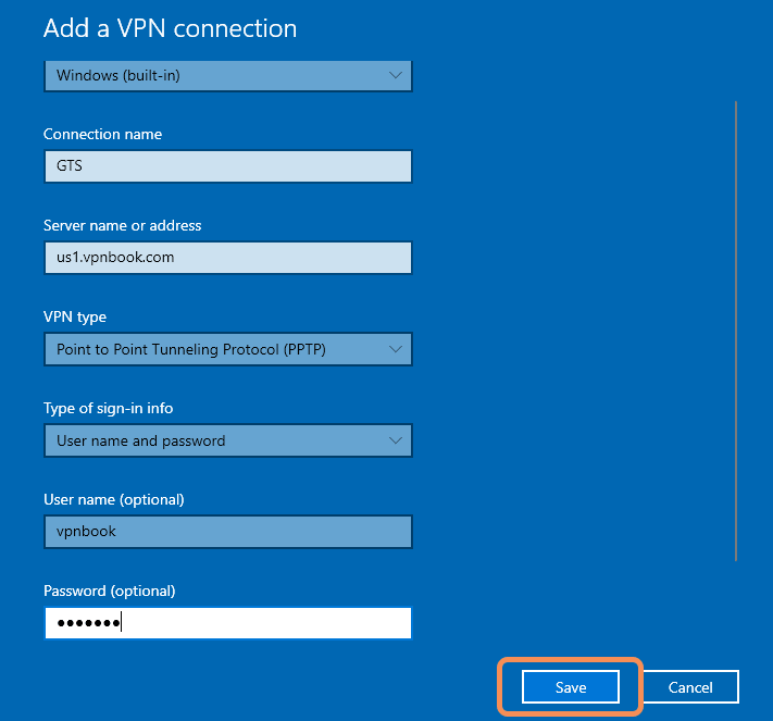 Setting Up VPN Connection On Windows 10 Using PPTP And OpenVPN Protocol- Set up PPTP VPN Profile